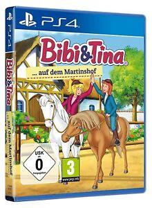 Bibi und Tina auf dem Martinshof (PS4) - neu + OVP