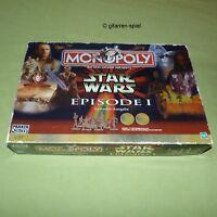 MONOPOLY - Star-Wars Episode 1 - Originale Sammler-Ausgabe von 1999 TOP RAR!