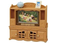 Sylvanian Families Calico Critters TV Stand & Storage Hutch