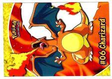 POKEMON English TOPPS CARD #06 PC3 CHARIZARD TRANSPARENT CARD 1999 DRACAUFEU