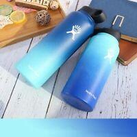 灬Multi-species 32/40 Oz Vacuum Insulated Wide Mouth Stainless Steel Water Bottle