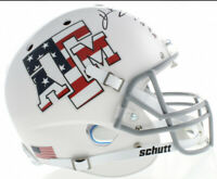 """Kevin Smith Signed Texas A&M Aggies """"Stars & Stripes"""" Full-Size Helmet"""