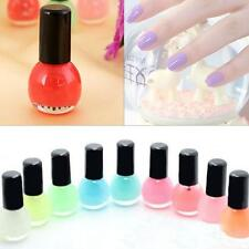Glow in the Dark Nail Polish Neon Fluorescent Varnish Luminous Paint 12 color TR