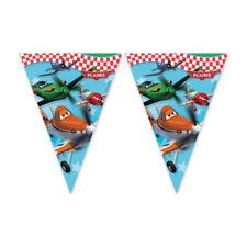 DISNEY Planes Buon Compleanno Festa a Tema Bandiera Bandierine banner lunghi 2.3m