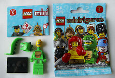 Lego Minifigures  8805 Serie 5  Nr. 6 Eidechsen-Mann