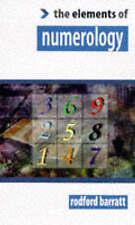 The Elements of... - Numerology, BARRATT, RODFORD, Very Good
