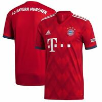 Adidas FC Bayern Munich Mens 2018/19 Soccer Football Home Official Jersey Size S