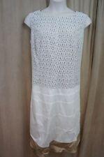 Anne Klein Dress Sz 22W Chalk White Sleeveless A Line Business Dinner Work dress