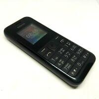 Nokia 105 RM- 1133 - Black (Unlocked) Cellular Dual Sim Mobile Phone