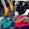 Ladies Womens Moccasin Suede Pumps Casual Moccasins Loafers Slip On Shoes Flats