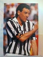 Rarissima foto ORIGINALE Juventus Sergio Brio Autografata firmata Anno 89-90