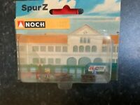 Suitable Marklin spur z scale/gauge Noch z Street Scene Set.