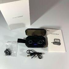 New listing True Wireless Earbuds Bluetooth 5.0 Ipx7 Waterproof Stereo Sound inEar Free Ship