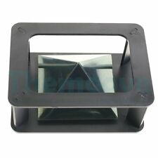 NEW HOLOGRAM PYRAMID  IPHONE ANDROID WINDOWS HD PHONE DISPLAY FLEXIBLE PLASTIC