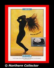 1996 Roksan Radius 3 Turntable Vintage Print Ad Specs Photo