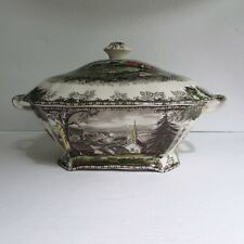 Johnson Brothers THE FRIENDLY VILLAGE Rectangular Soup Tureen England