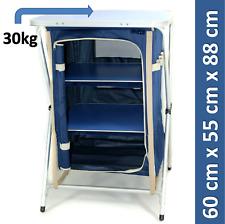 B-Ware Alu Faltschrank Campingregal Küche klappbar Möbel mobil extra leicht -AJ