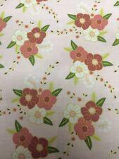 Wonderland Pink Flowers Riley Blake Fabric FQ + More Nature 100% Cotton Craft
