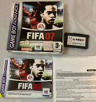 Fifa 07 Nintendo Gameboy Advance - PAL version Complete With Box And Manual