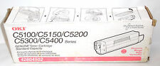 Genuine Okidata OKI 42804502 MAGENTA TONER CARTRIDGE FOR C5100 C5150 C5200 C5300