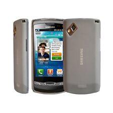 housse étui coque en gel blanc pour Samsung Wave 2 s8530 + film protecteur