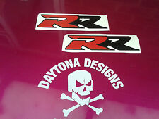 CBR FIREBLADE VFR NSR RR SEAT UNIT FAIRING RED & BLACK DECALS STICKERS
