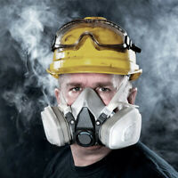 6200 Half Face Gas Cover Protect Painting Spraying Facepiece Respirator Good