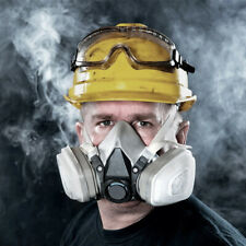 6800 Half Face Gas Cover Protect Painting Spraying Facepiece Respirator