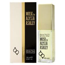 MUSK by ALYSSA ASHLEY for WOMEN * 3.4 oz (100 ml) EDT Spray * NEW SEALED BOX