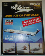 The Squadron Magazine 2001 Kit Of The Year MD80 No.61 040815R