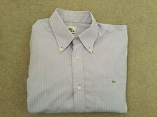 Lacoste Cotton Check Regular Casual Shirts & Tops for Men