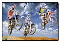 Schreibtischunterlage Motocross