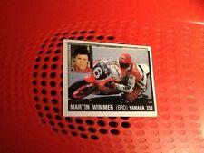 Martin Wimmer Yamaha 250 motorcycling Panini Motor Adventures sticker #127