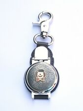Clown Clip on Leather Fob Pocket Watch Ideal Clown Gift