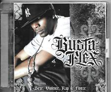 CD ALBUM 13 TITRES--BUSTA FLEX--SEXE VIOLENCE RAP & FLOOZE VOLUME 2--2008