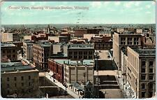 WINNIPEG, Manitoba  CANADA  Birdseye View WHOLESALE SECTION  1909  Postcard