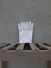 White Cotton Dress Gloves by Tails & the Unexpected - Snooker or Masonic gloves.