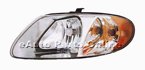 HEADLIGHT ASSEMBLY 01-04 CARAVAN TOWN AND COUNTRY LH