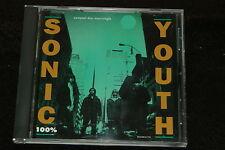 Sonic Youth '100%' 1992 U.S. 4-Track Promo CD in jewel case