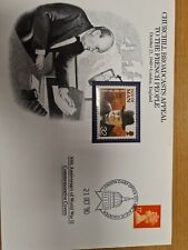 Churchill cover  1990 with IOM  stamp stamp.Attractive