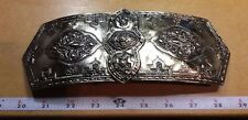 Vintage Huge Metal Belt Buckle Made in Japan