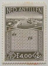 Ned. Antillen - Plakzegel F 4,00