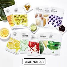 The Face Shop - Real Nature Face Mask  Korean Mask 10 sheets Pack