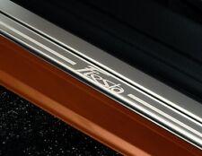 Original Ford Fiesta VI 3-Türer Edelstahl Einstiegsleisten 2 Teilig vorn 1531356