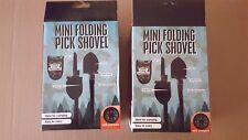 Mini Survival Shovel/Multifunctional Folding Shovel with Compass,Case,Shovel