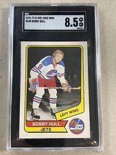 1976-77 O-Pee-Chee WHA Bobby Hull #100 SGC 8.5 Graded Vintage Hockey Card