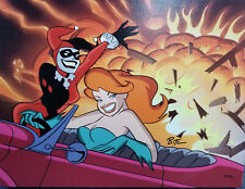 DC-Girls Night Out Canvas 38/100 Signed by Bruce Timm