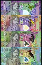 SET, Kamberra, 10;20;50;100 Numismas, POLYMER, 2013 (2014) UNC Commemorative