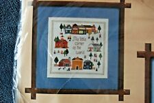 The Creative Circle Counted Cross Stitch Kit 1683 Corner of the World New/Sealed