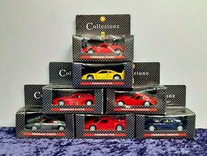 Collezione Ferrari Bundle of 7 x Collectable Model Cars with Original Boxes